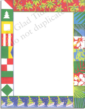 Product Image For Nautical Christmas Paper
